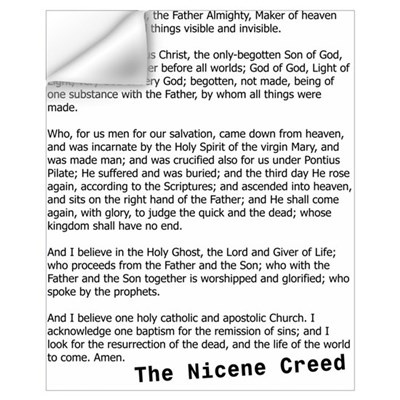 Nicene Creed Wall Decal