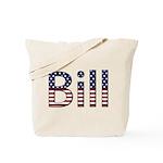 Bill Stars and Stripes Tote Bag