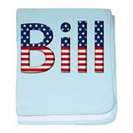 Bill Stars and Stripes baby blanket