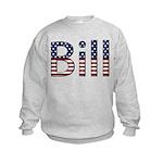 Bill Stars and Stripes Kids Sweatshirt