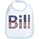 Bill Stars and Stripes Bib