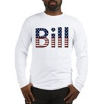 Bill Stars and Stripes Long Sleeve T-Shirt