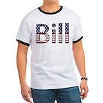 Bill Stars and Stripes Ringer T
