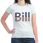 Bill Stars and Stripes Jr. Ringer T-Shirt
