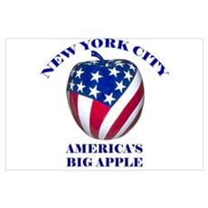 America's Big Apple Poster