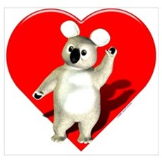 Love Koala bears Poster