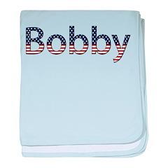 Bobby Stars and Stripes baby blanket