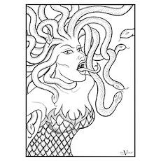 Medusa - Greek Mythology Poster
