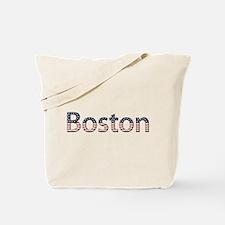 Boston Stars and Stripes Tote Bag