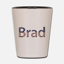 Brad Stars and Stripes Shot Glass