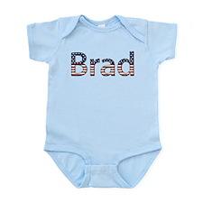 Brad Stars and Stripes Infant Bodysuit