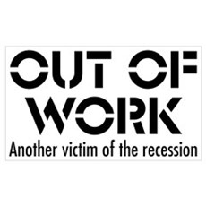 Out of Work Canvas Art