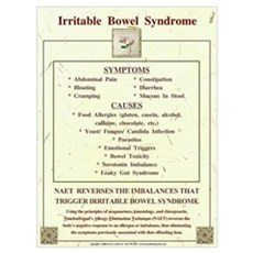 Large Irritable Bowel Syndrome for NAET Poster