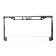 Brandi Stars and Stripes License Plate Frame