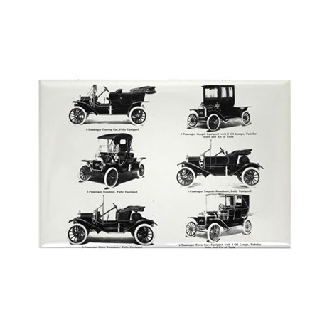 Ford Model T - 1911 Ad Rectangle Magnet