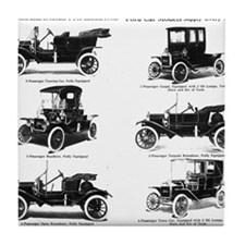Ford Model T - 1911 Ad Tile Coaster