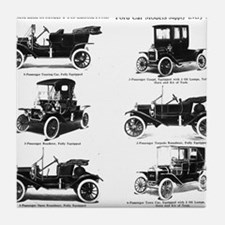 Ford Model T - 1911 Ad Tile Coaster