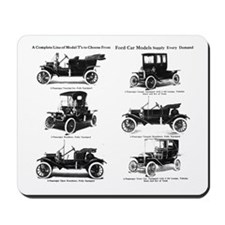 Ford Model T - 1911 Ad Mousepad