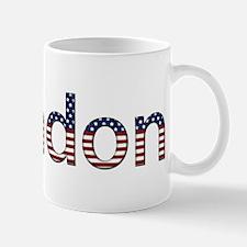 Brandon Stars and Stripes Mug