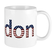 Brandon Stars and Stripes Mug