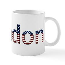 Brandon Stars and Stripes Small Mug