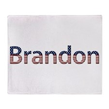 Brandon Stars and Stripes Throw Blanket