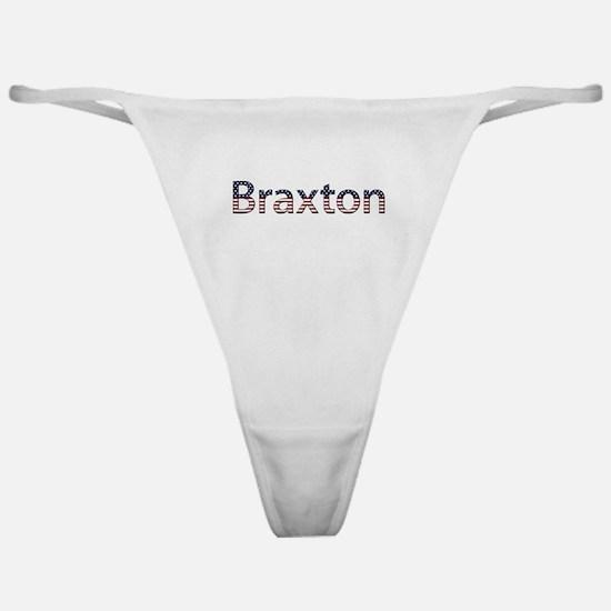 Braxton Stars and Stripes Classic Thong