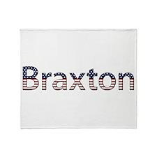 Braxton Stars and Stripes Throw Blanket