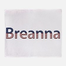 Breanna Stars and Stripes Throw Blanket