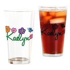 Kaelyn Flowers Drinking Glass