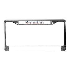 Brendan Stars and Stripes License Plate Frame