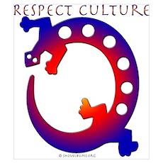 Respect Culture - Native Lizard Poster