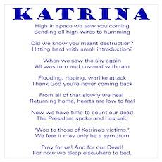 Poem of Katrina Poster