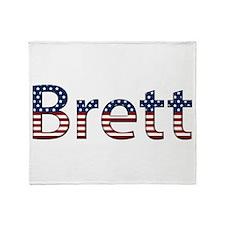 Brett Stars and Stripes Throw Blanket