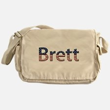 Brett Stars and Stripes Messenger Bag