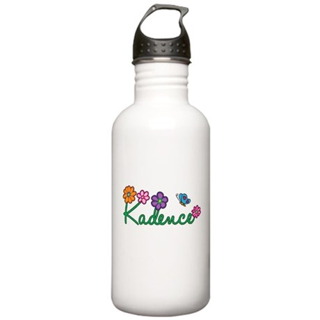 Kadence Flowers Stainless Water Bottle 1.0L