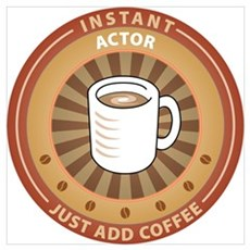 Instant Actor Canvas Art