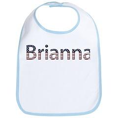 Brianna Stars and Stripes Bib