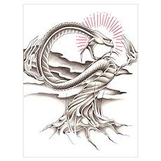 Snake Tree Poster