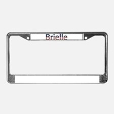 Brielle Stars and Stripes License Plate Frame