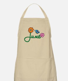 June Flowers Apron