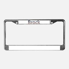 Brock Stars and Stripes License Plate Frame