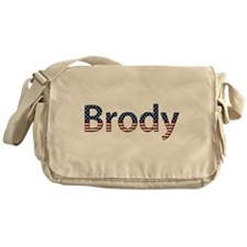 Brody Stars and Stripes Messenger Bag