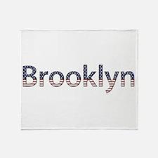 Brooklyn Stars and Stripes Throw Blanket