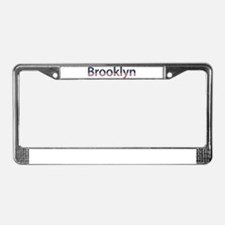 Brooklyn Stars and Stripes License Plate Frame