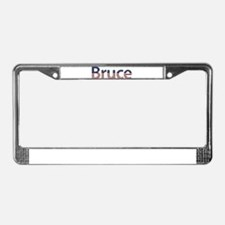 Bruce Stars and Stripes License Plate Frame
