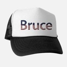 Bruce Stars and Stripes Trucker Hat