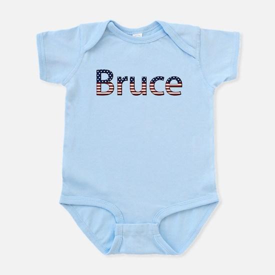 Bruce Stars and Stripes Infant Bodysuit