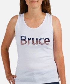 Bruce Stars and Stripes Women's Tank Top