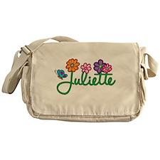 Juliette Flowers Messenger Bag